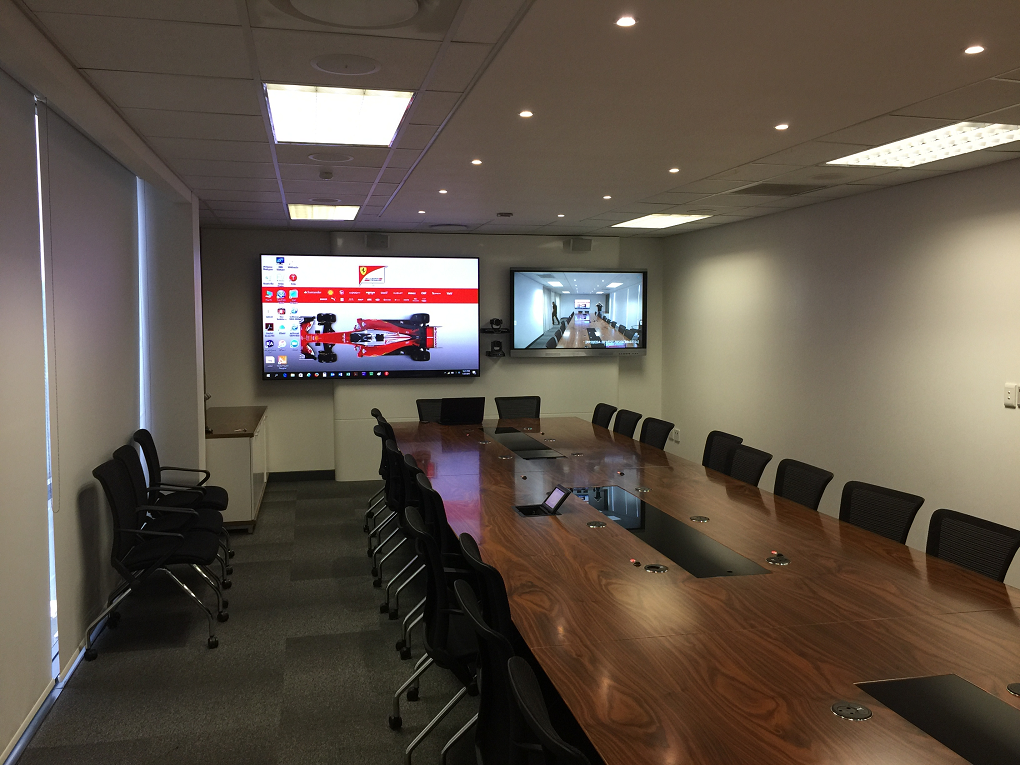 Unified Conferencing Boardroom
