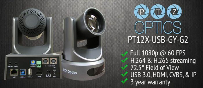 PTZOptics 12x-USB Camera Product Review 2017