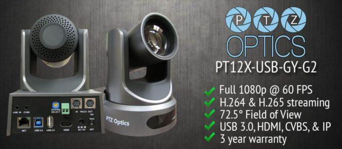 PTZOptics 12x-USB Camera Product Review 2017