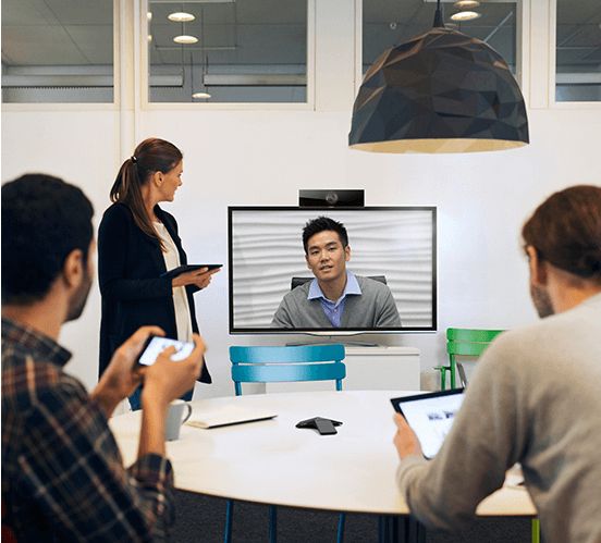 Polycom-RealPresence-Debut-Meeting