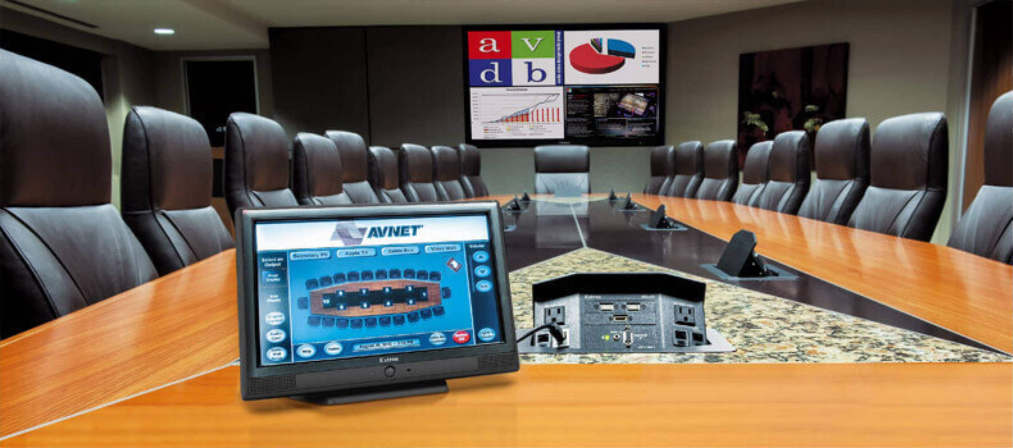 Meeting Room with AV Control