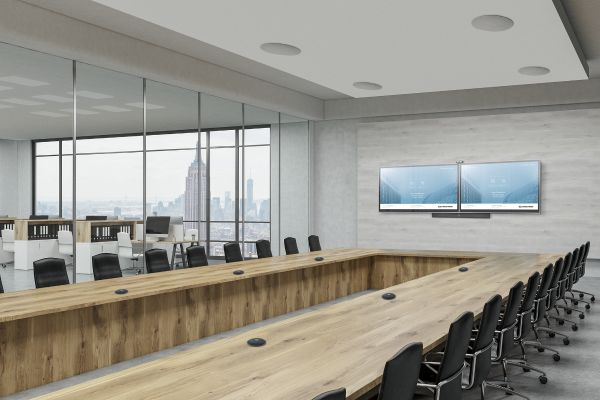 Boardroom with Installed Audio